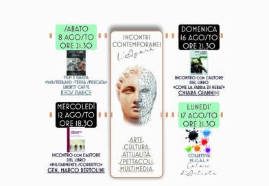 INCONTRI CONTEMPORANEI:l'Agorà..a Viareggio dal 8 agosto