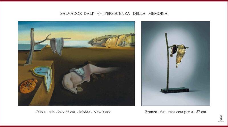 SALVADOR DALI': < PERSISTENZA DELLA MEMORIA >..di Marco Polloni