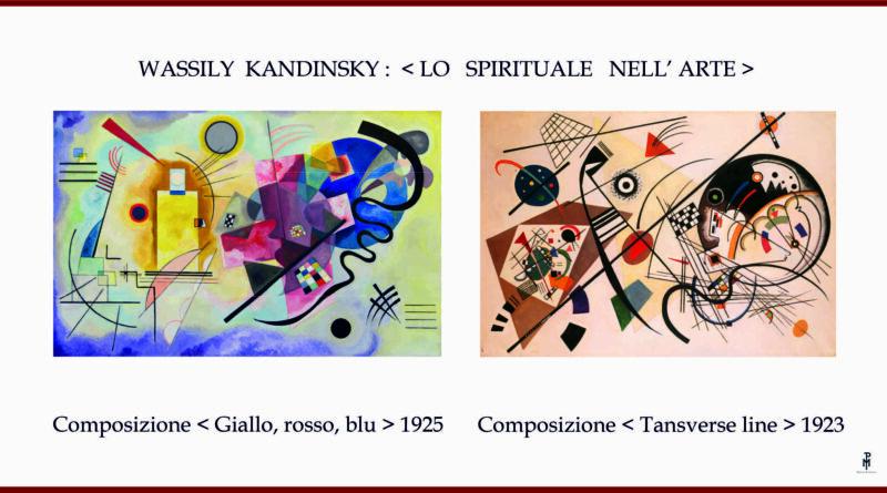WASSILY KANDINSKY : < LO SPIRITUALE NELL'ARTE >..di Marco Polloni