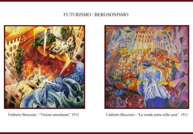 FUTURISMO / BERGSONISMO…di Marco Polloni